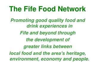 The Fife Food Network
