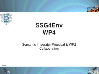 SSG4Env  WP4