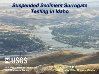 Suspended Sediment Surrogate Testing in Idaho