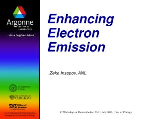 Enhancing Electron Emission