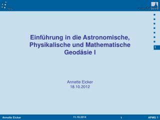 Annette Eicker 18.10.2012