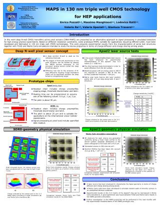 MAPS in 130 nm triple well CMOS technology for HEP applications