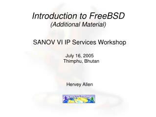 Introduction to FreeBSD (Additional Material)