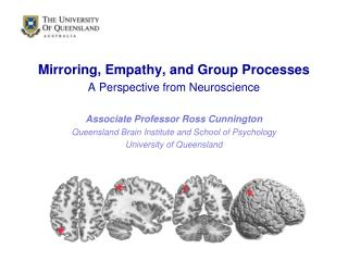Mirroring, Empathy, and Group Processes A Perspective from Neuroscience