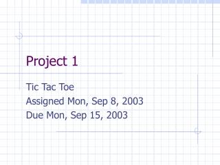 TIC-TAC-TOE