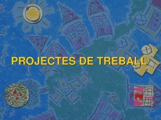 PROJECTES DE TREBALL