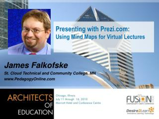 Presenting with Prezi:  Using Mind Maps for Virtual Lectures