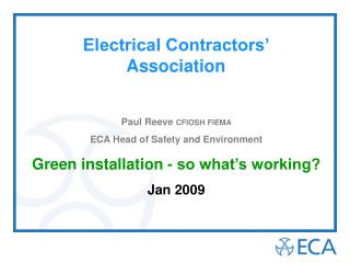 Electrical Contractors� Association