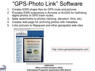 """GPS-Photo Link"" Software"
