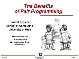 The Benefits of Pair Programming