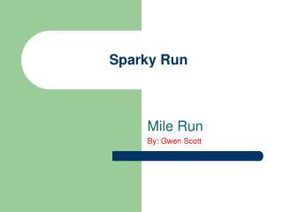 Sparky Run