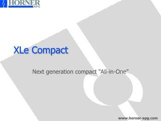 XLe Compact