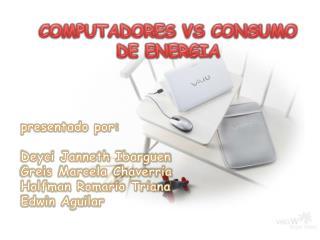 COMPUTADORES VS CONSUMO DE ENERGIA