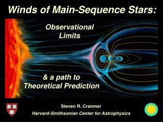Winds of Main-Sequence Stars: