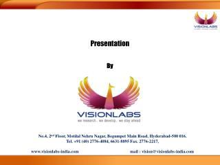 No.4, 2nd Floor, Motilal Nehru Nagar, Begumpet Main Road, Hyderabad-500 016. Tel. 91 40 2776-4084, 6631-8895 Fax. 2776-2