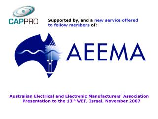 Australian Electrical and Electronic Manufacturers' Association