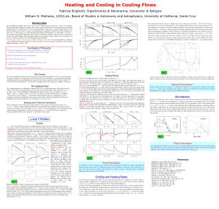 Heating and Cooling in Cooling Flows