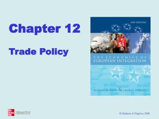 Chapter 12 Trade Policy