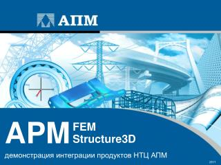 демонстрация интеграции продуктов НТЦ АПМ  2011