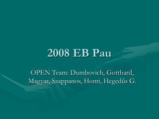 2008 EB Pau