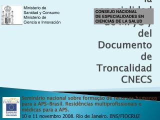 CONSEJO NACIONAL DE ESPECIALIDADES EN CIENCIAS DE LA SALUD