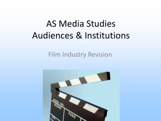 AS Media Studies Audiences  Institutions