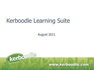 Kerboodle Learning Suite
