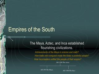 Empires of the South