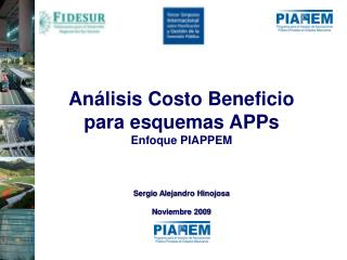Esquema General de Análisis Costo y Beneficio Agregado