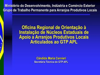 Minist�rio do Desenvolvimento, Ind�stria e Com�rcio Exterior