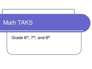 Math TAKS