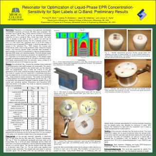 Resonator for Optimization of Liquid-Phase  EPR  Concentration-