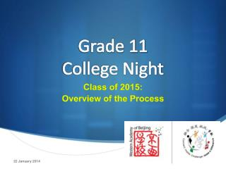 Grade 11  College Night