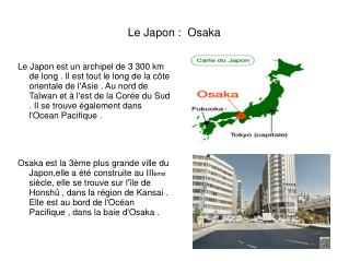 Le Japon:  Osaka