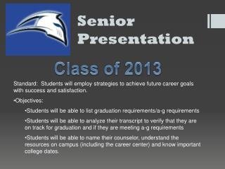Senior Presentation