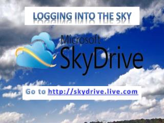 Logging  into  the  Sky