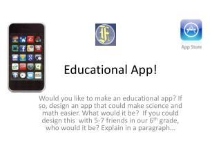 Educational App!