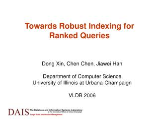 Towards Robust Indexing for Ranked Queries