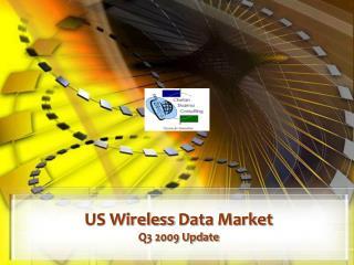US Wireless  Data Market Q3 2009 Update