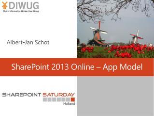 SharePoint 2013 Online –  App  Model