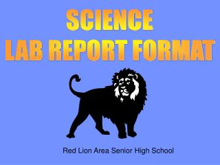 SCIENCE LAB REPORT FORMAT