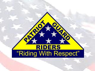 The Patriot Guard Riders is a diverse�amalgamation of riders