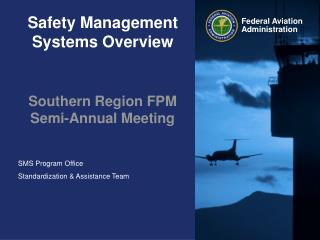 Safety Management Systems Overview
