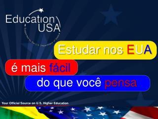Estudar nos  E U A