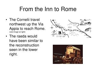 From the Inn to Rome