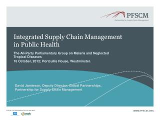 Integrated Supply Chain Management in Public Health
