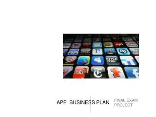 APP  BUSINESS PLAN