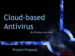 Cloud-based Antivirus