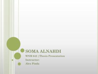 SOMA ALNAHDI