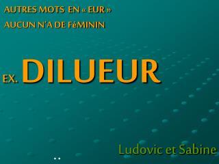Ludovic et Sabine